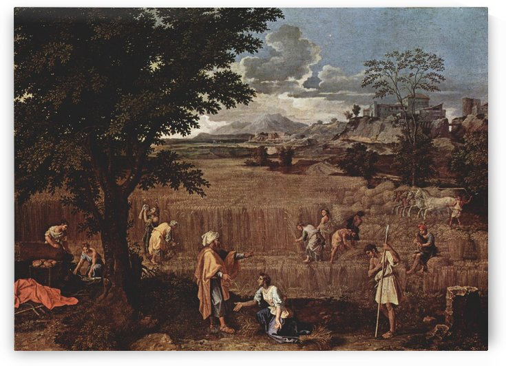 Ruth and Boaz by Nicolas Poussin