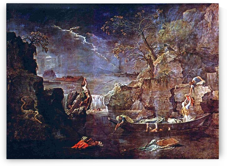 Winter or Flood by Nicolas Poussin