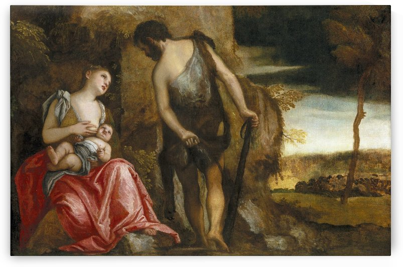 Cain and his family wandering by Paolo Veronese