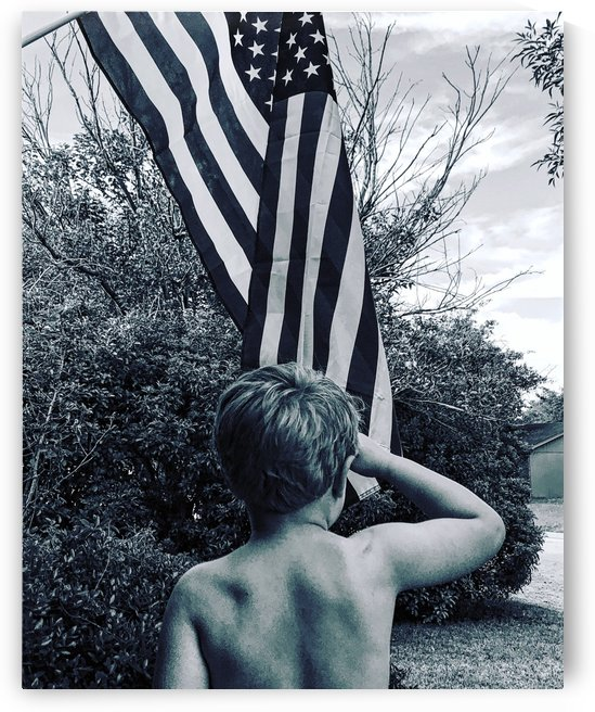 Patriotic Youth by Michael Trego