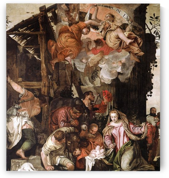 Adoration pastors by Paolo Veronese