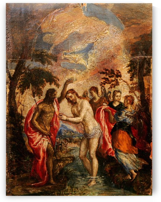 The Baptism of Christ by Paolo Veronese