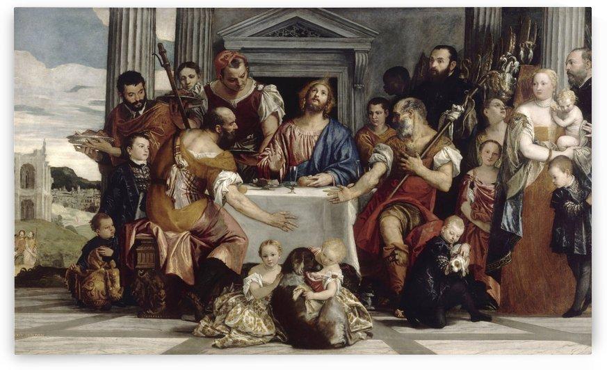 Pelerins d Emmaus by Paolo Veronese