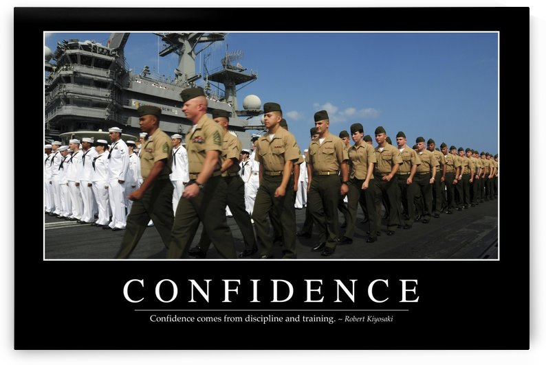 Confidence: Inspirational Quote and Motivational Poster by StocktrekImages