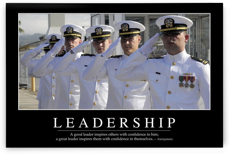 Leadership: Inspirational Quote and Motivational Poster by StocktrekImages