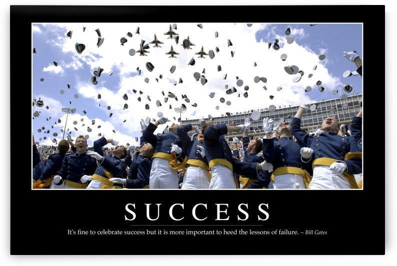 Success: Inspirational Quote and Motivational Poster by StocktrekImages