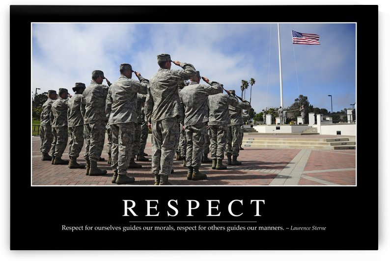 Respect: Inspirational Quote and Motivational Poster by StocktrekImages