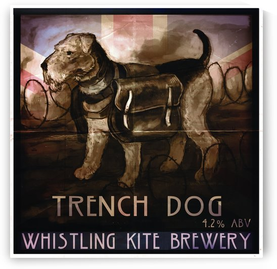 Whistling Kite Brewery: Trench Dog by Alex Holt