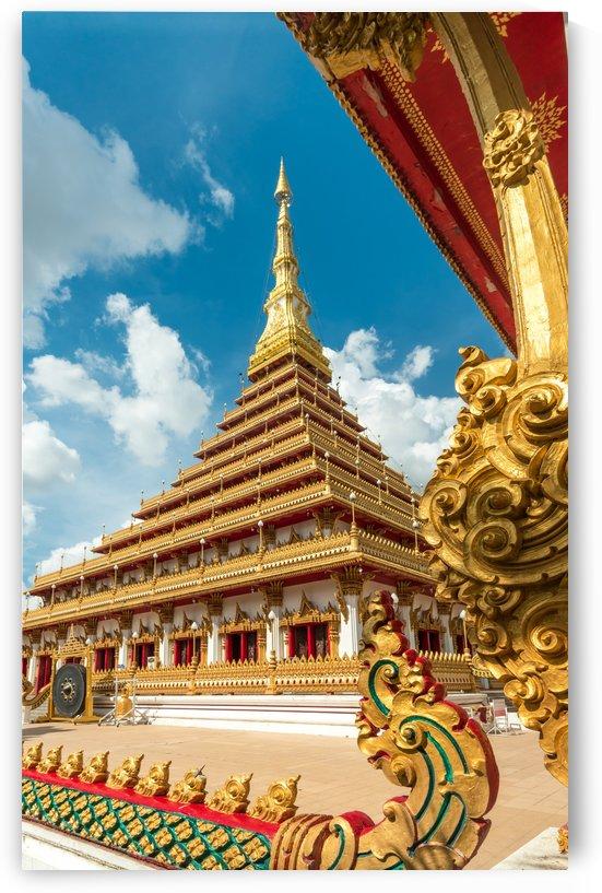 Golden pagoda by Krit of Studio OMG