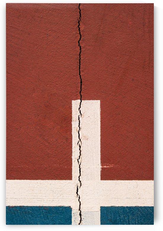 Crack line on concrete by Krit of Studio OMG