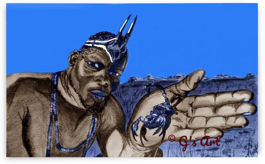 scorpionking  by Gerald Botha
