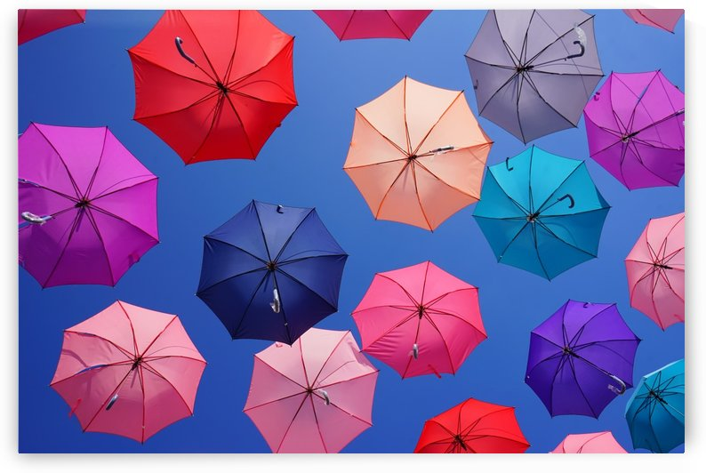 Colorful umbrella by Krit of Studio OMG