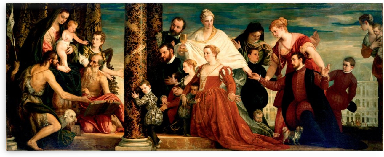 The Madonna of the Cuccina Family by Paolo Veronese