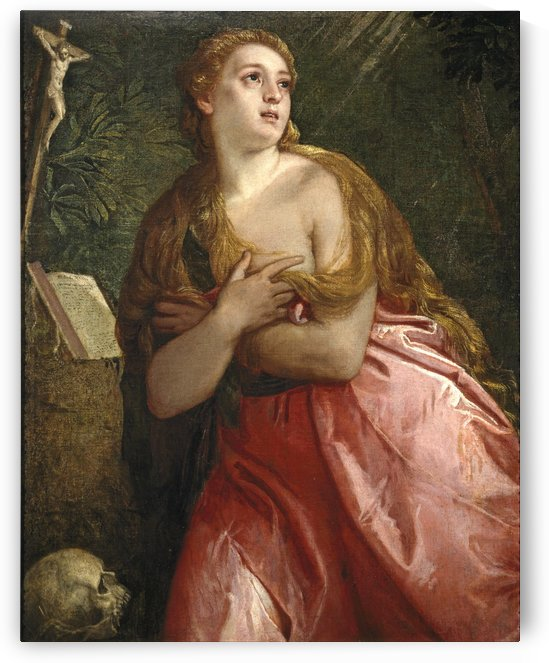 The penitent Mary Magdalene by Paolo Veronese
