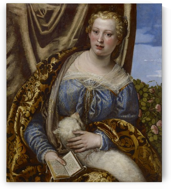 Portrait of a Lady as Saint Agnes by Paolo Veronese
