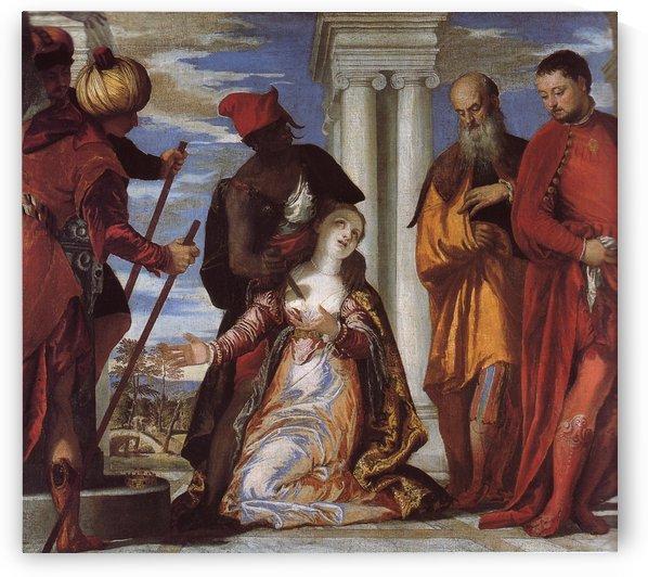 Martirio di Santa Giustina by Paolo Veronese