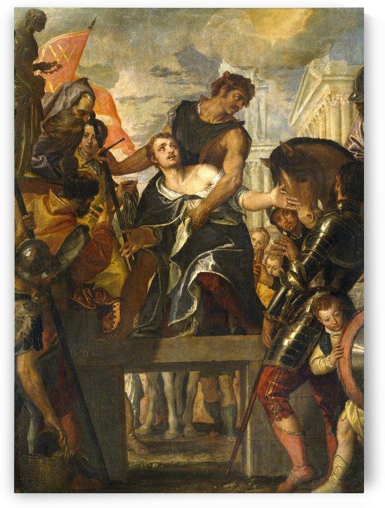 Saint Menas Martire by Paolo Veronese