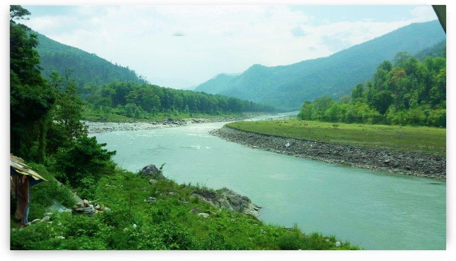 River Tista by Nilu Mishra