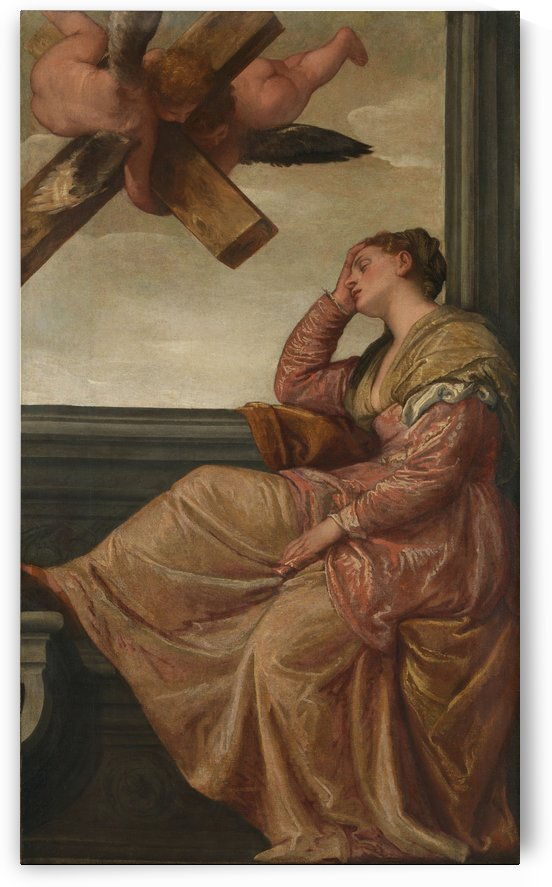 La visione di Sant Elena by Paolo Veronese