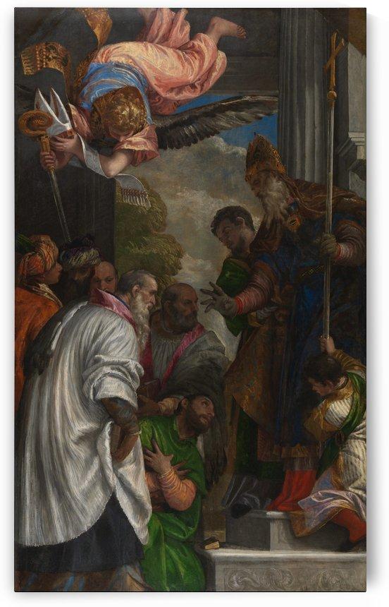 La consacrazione di San Nicola by Paolo Veronese