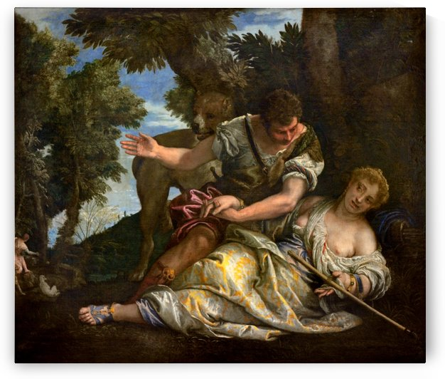Cephalus and Procris by Paolo Veronese