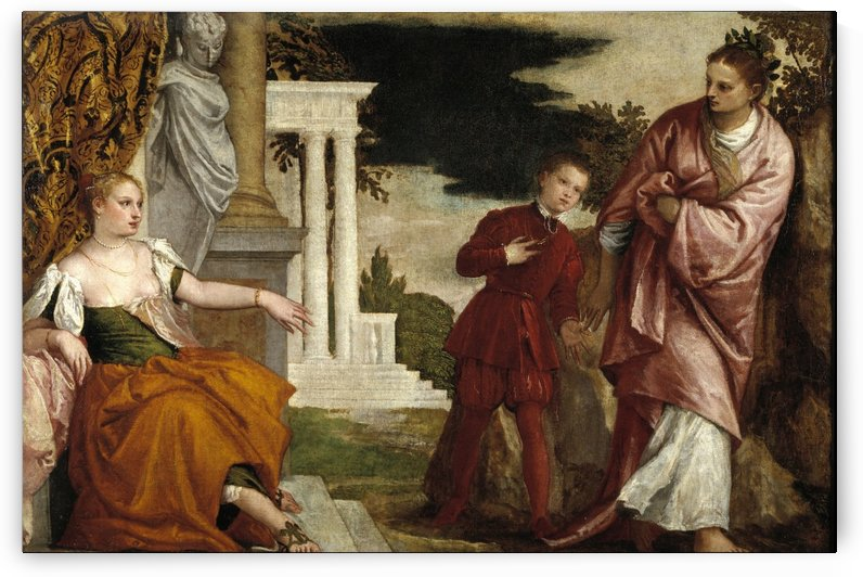 Allegory of Virtue and Vice by Paolo Veronese