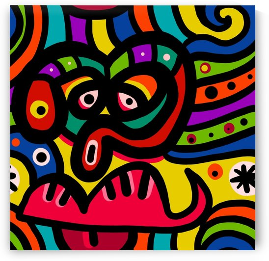 Face Doodle_OSG by One Simple Gallery