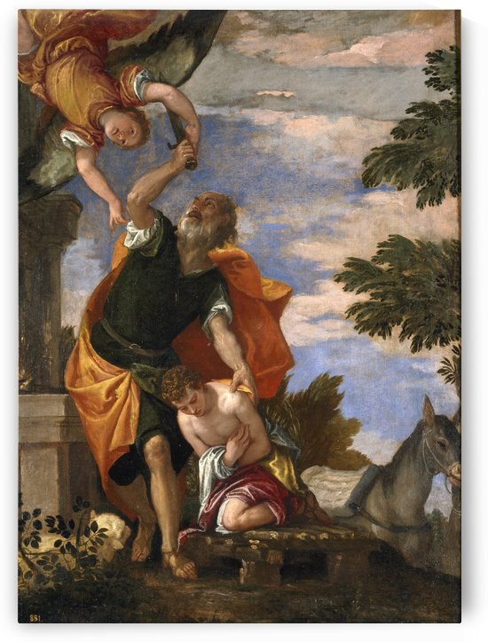 Sacrifice of Isaac by Paolo Veronese