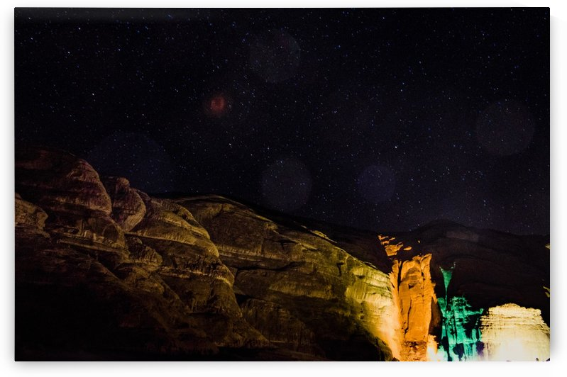 Starry Night - Al-Ula Monuments Saudi Arabia by Creative Chronicles