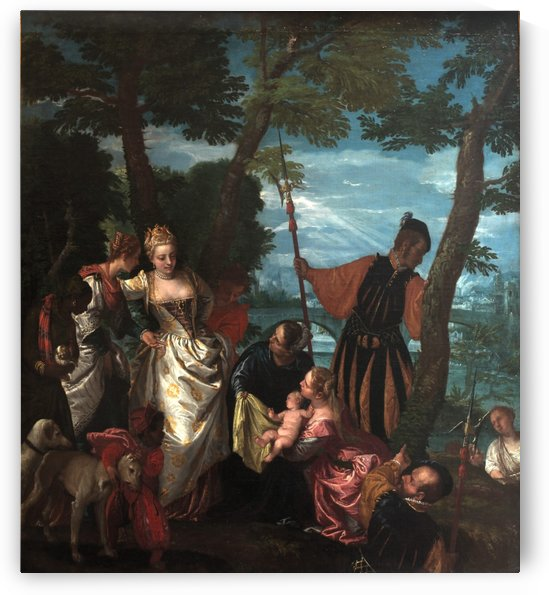 Moses saved from the water by Paolo Veronese