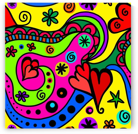 Doodle My Hearts_OSG by One Simple Gallery