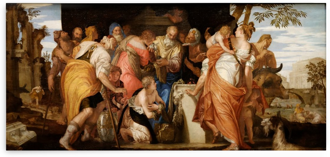 The Anointing of David by Paolo Veronese