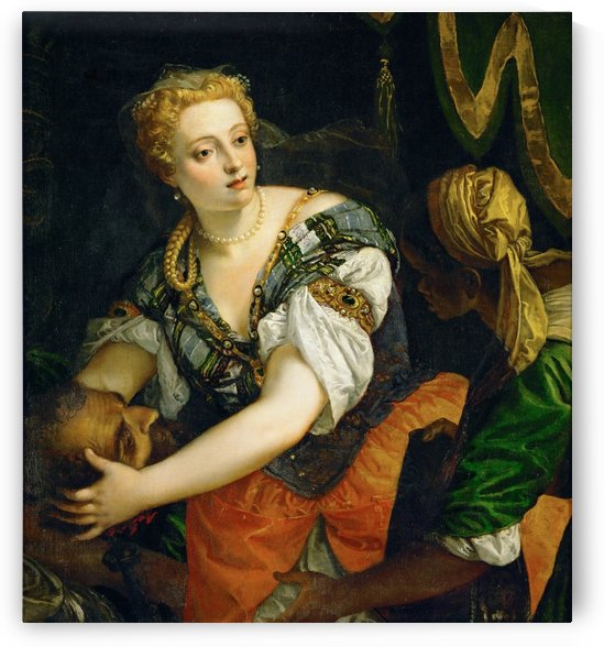 Judith with the Head of Holophernes by Paolo Veronese