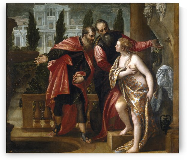 Susana y los viejos by Paolo Veronese