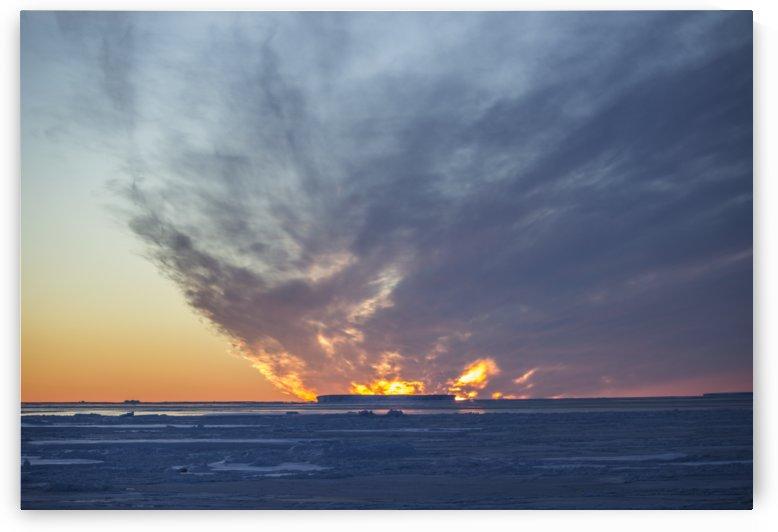 Iceberg on Fire by Peter Kaple