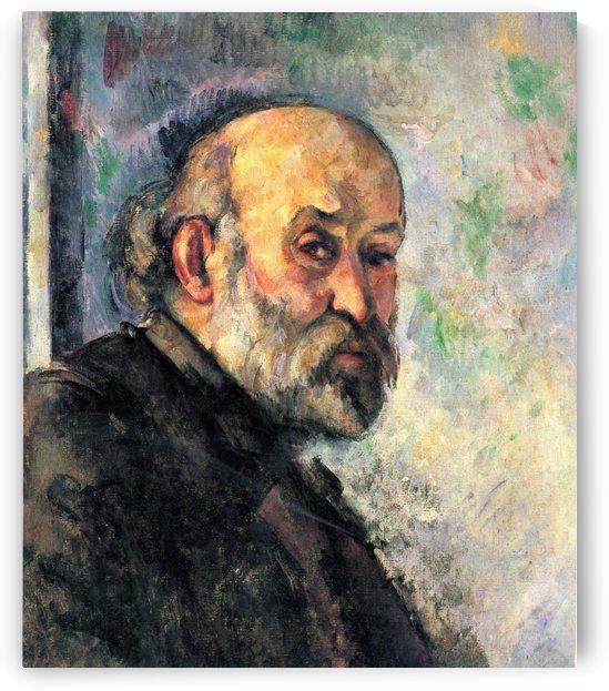 Selbstportrat by Paul Cezanne