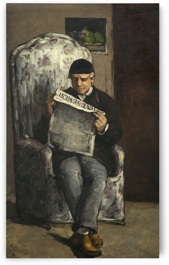 The Artists Father by Paul Cezanne