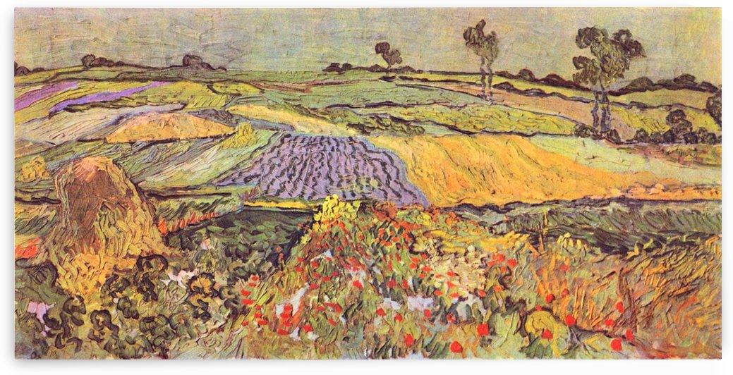 At Auvers by Van Gogh by Van Gogh