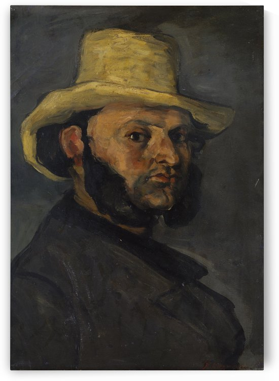 Gustave Boyer by Paul Cezanne
