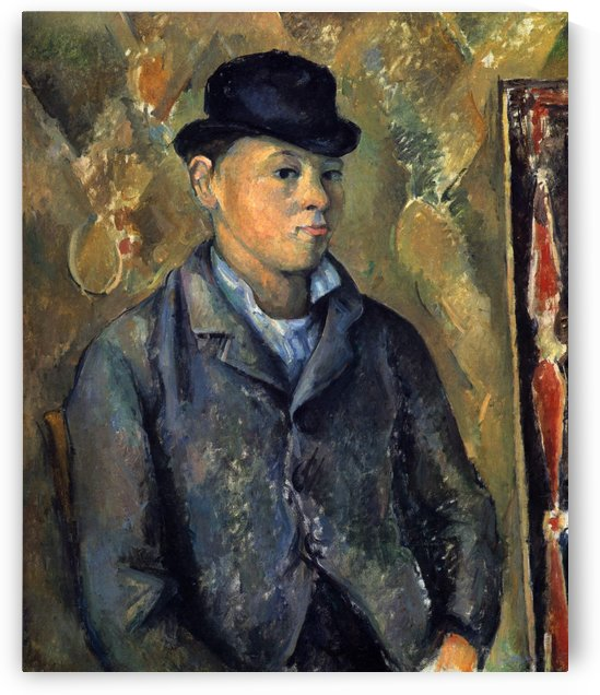 The Artists Son, Paul by Paul Cezanne