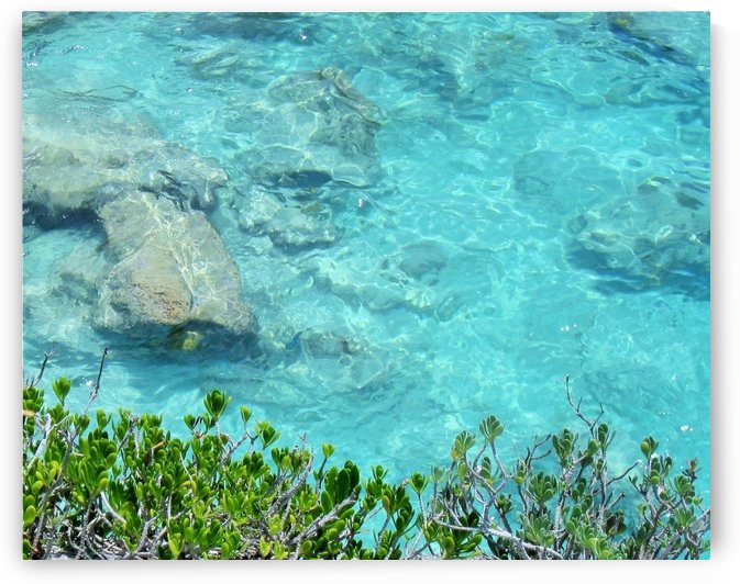 Beautiful Turquoise Water Photograph by Katherine Lindsey Photography