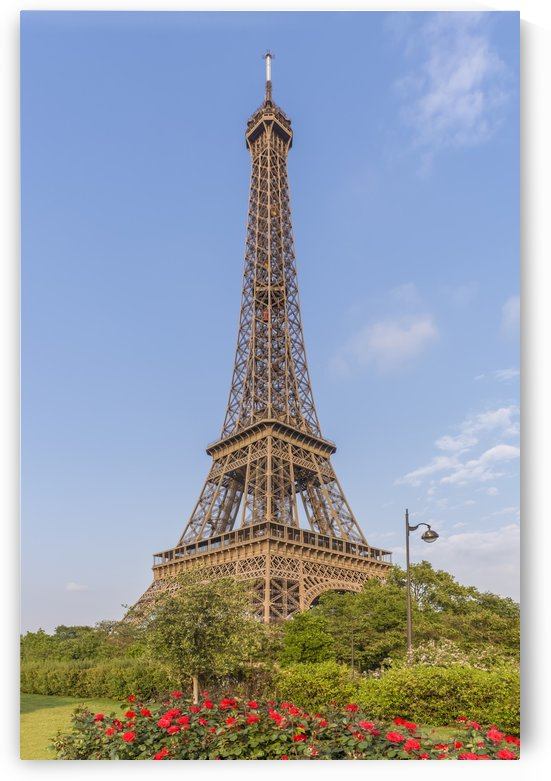 Idyllic Paris view by Melanie Viola