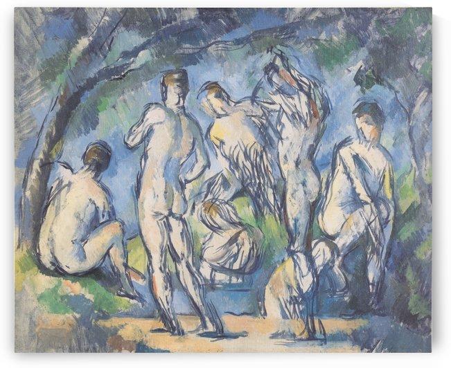 Sept Baigneurs by Paul Cezanne
