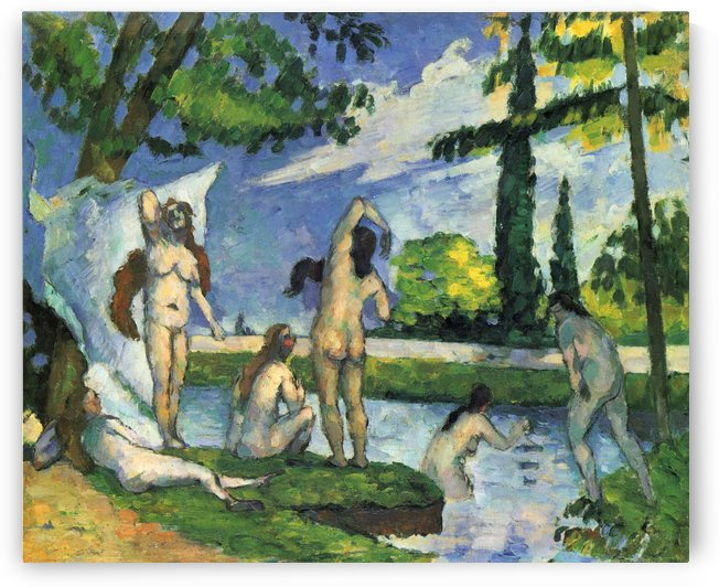 Oil on canvas by Paul Cezanne