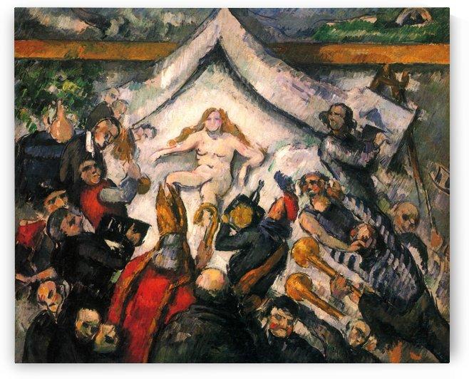 Das Ewig-Weibliche by Paul Cezanne
