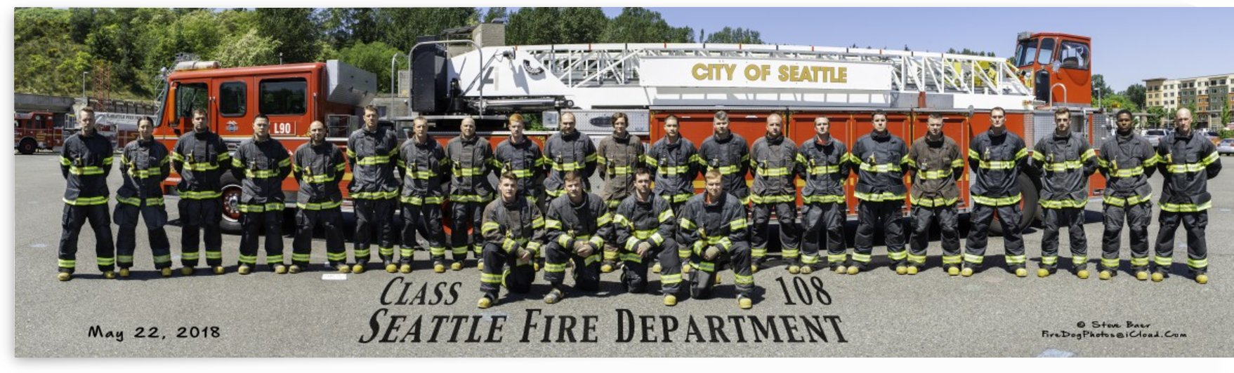 Seattle Fire Recruit Class 108 closed coats by Steve