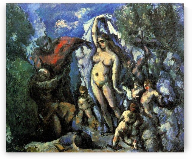 Die Versuchung des Hl. Antonius by Paul Cezanne