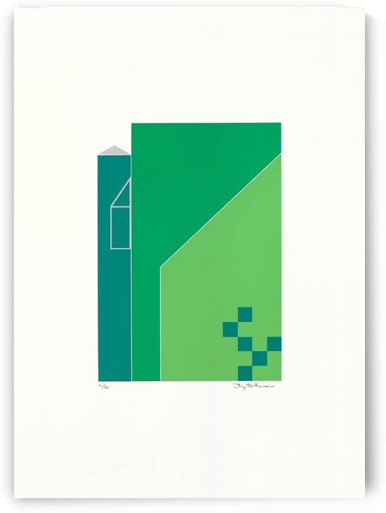 Grønne Huse.   by Birgitte Hansen