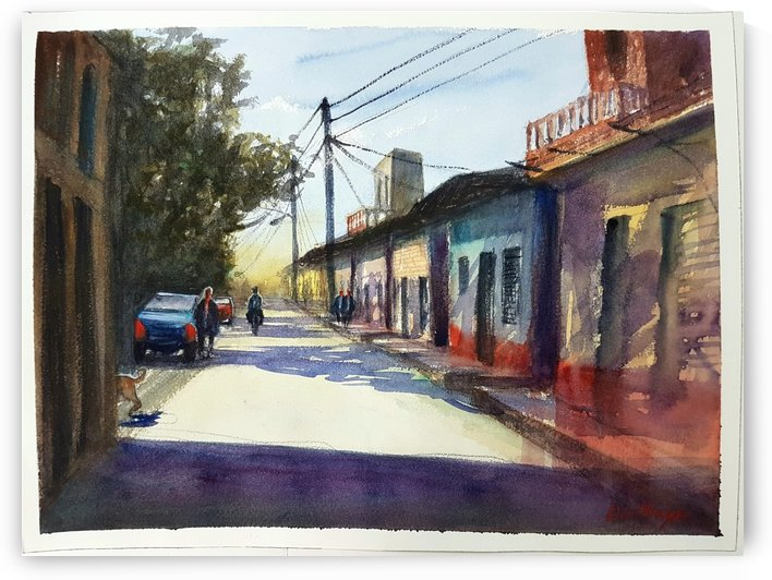 A street in Cuba by Lior Ohayon