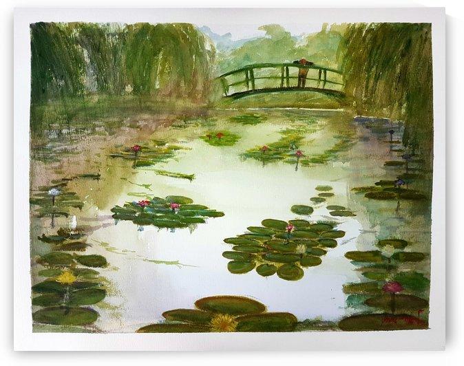 Monet Garden Amsterdam by Lior Ohayon